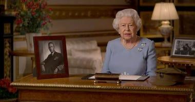 Queen deliveres VE Day address