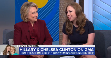 Hillary and Chelsea Clinton on Good Morning America