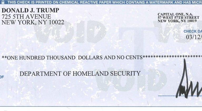 Homeland Security check