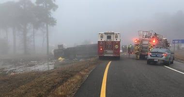 Virginia charter bus crash