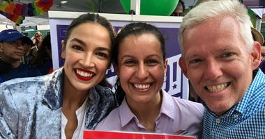 AOC at Queens Pride