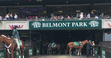 Just hours to go until Justify chases the Triple Crown at Belmont.