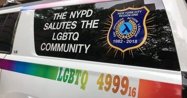 NYPD Gay Pride