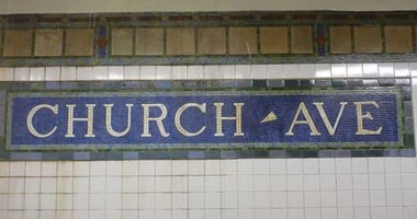church avenue subway stop