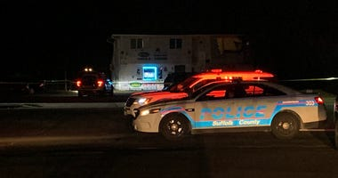 Police shooting Brentwood