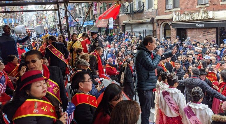 New Year Parade Chinatown
