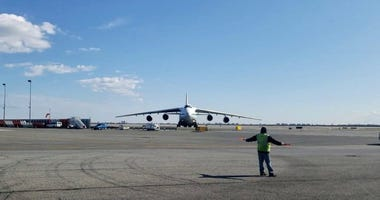 Russian cargo plane