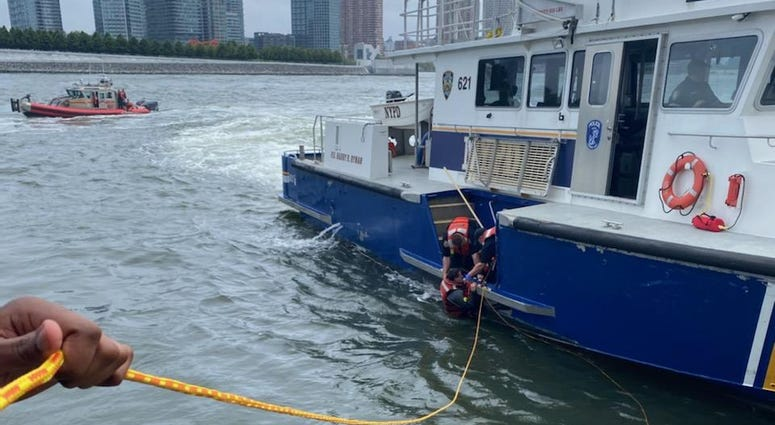 East River rescue