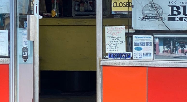 NJ Store sign