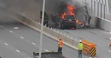 Mario Cuomo bridge fire