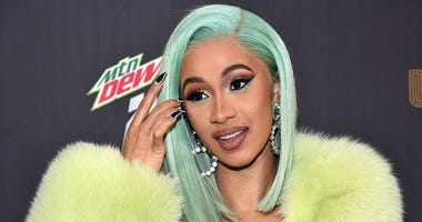 Cardi B attends the Billboard 2018 R&B Hip-Hop Power Players event at Legacy Records on September 27, 2018 in New York City.