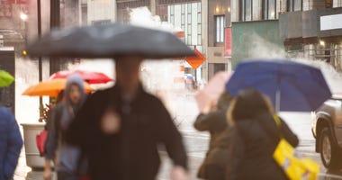 Manhattan pedestrians