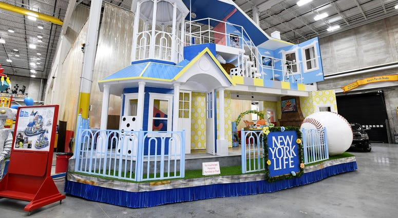 Toy House of Marvelous Milestones by New York Life Float
