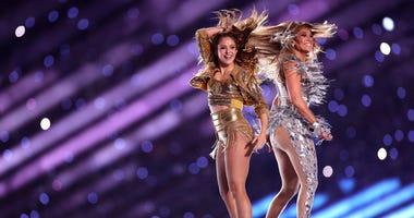 Shakira, Jennifer Lopez at Super Bowl LIV