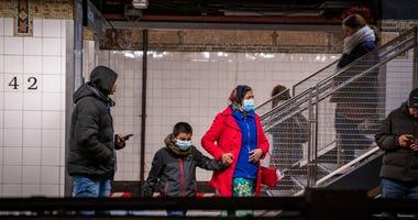 Coronavirus subway