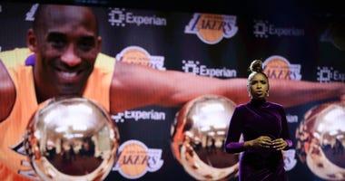 Jennifer Hudson performs Kobe Bryant tribute at 2020 NBA All-Star Game