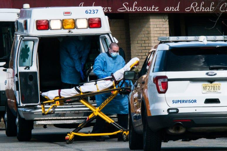 Coronavirus New Jersey nursing home