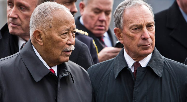 Dinkins and Bloomberg