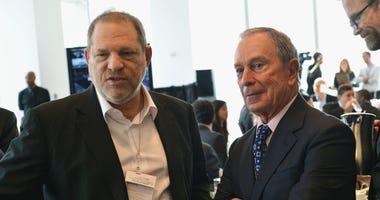 Michael Bloomberg and Harvey Weinstein