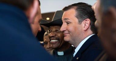 Rev. Ruben Diaz Sr. with Ted Cruz