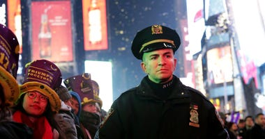 NYPD Times Square security