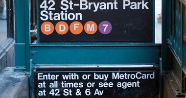 42 St - Bryant Park subway station