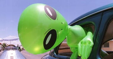 Alien doll in Roswell