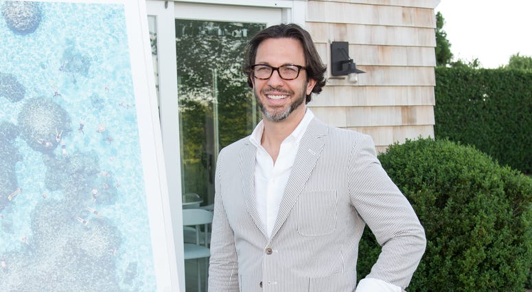 Dr. Andrew Jacono attends Hamptons Magazine and Matthew Breitenbach Celebration with Artist Gray Malin June 24, 2017 in Watermill, New York.