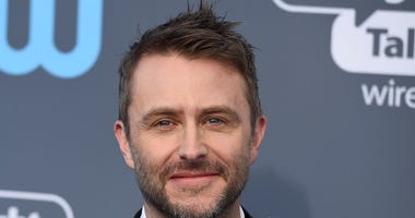 FILE - In this Jan. 11, 2018 file photo, Chris Hardwick arrives at the 23rd annual Critics' Choice Awards in Santa Monica, Calif.