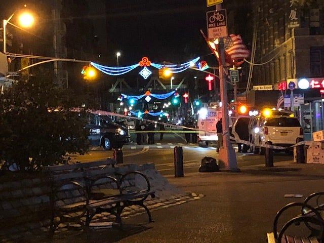 Homeless men attacked