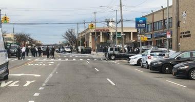 Police shooting Queens