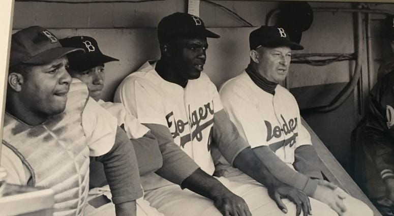 NYC Museum Exhibit: In the Dugout with Jackie Robinson