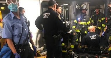 Man killed by subway train Harlem