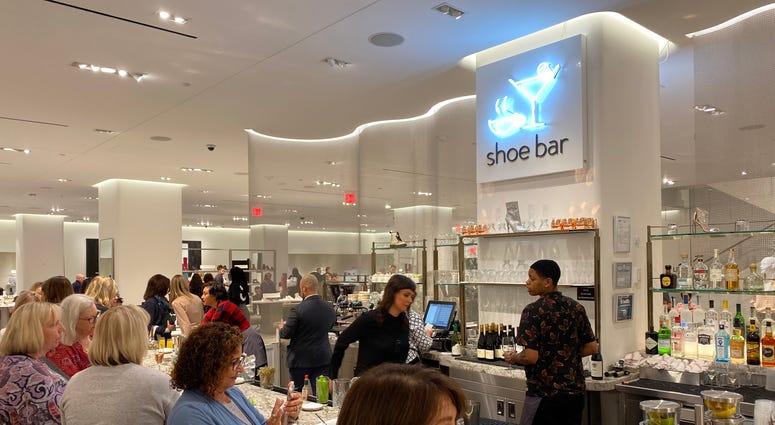 Nordstrom shoe bar