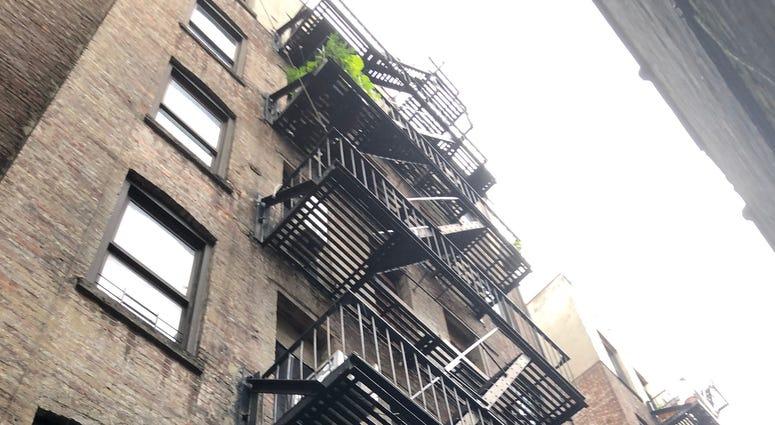 Deadly fall fire escape
