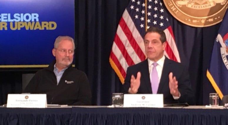 Gov. Andrew Cuomo announces plan to avoid full L train shutdown in April.