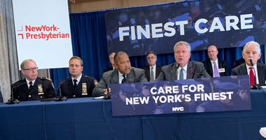 Mayor de Blasio discusses 'Finest Care Program'