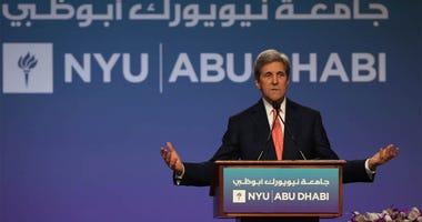 John Kerry Speaks At NYU Abu Dhabi
