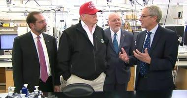 Trump at CDC