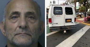 Cops say Marwan Hanna tried to lure teenage girls into his van.