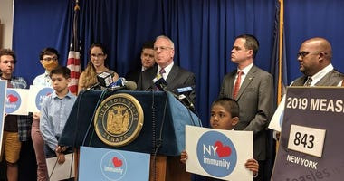Assemblyman Jeffrey Dinowitz is among those calling for an end to religious exemptions for measles vaccinations.