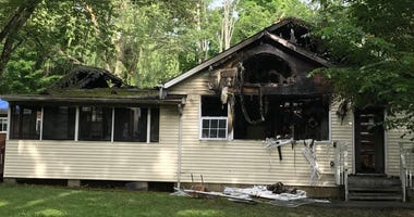 A bungalow rented by students from a Boro Park yeshiva went up in flames.