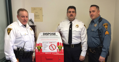 Lt. Thomas Murphy, Chief Allan Attanasio, Detective Sgt. Andrew Huber