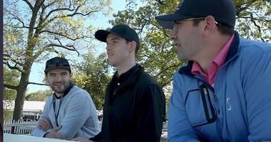 NHL stars at the PGA Championship at Bethpage Black
