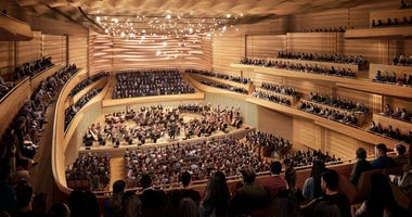 NY Philharmonic renovations