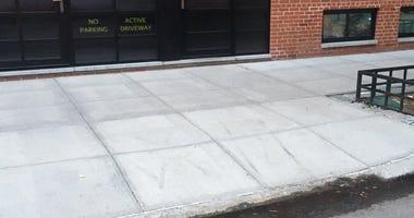 Created parking spot