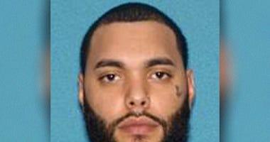 Larry Ortiz, 28, of North Bergen is accused of firing a gun in Newark.