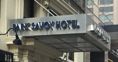 The Park Savoy Hotel on 58th Street.
