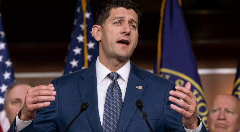 Speaker of the House Paul Ryan, R-Wis.