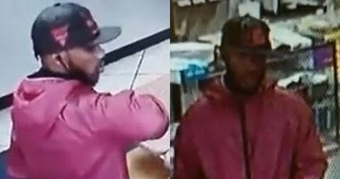 Cops are looking for a guy who allegedly shouted anti-white statements before punching a man in the face.